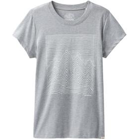 Prana Climbing Kortærmet T-shirt Damer grå